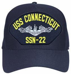 USS Connecticut SSN-22 ( Silver Dolphins ) Submarine Enlisted Cap