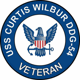 USS Curtis Wilbur DDG-54 Veteran Decal Sticker