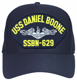 USS Daniel Boone SSBN-629 ( Silver Dolphins ) Submarine Enlisted Cap