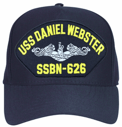 USS Daniel Webster SSBN-626 ( Silver Dolphins ) Submarine Enlisted Cap