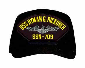 USS Hyman G. Rickover SSN-709 ( Silver Dolphins ) Submarine Enlisted Cap