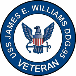 USS James E Williams DDG-95 Veteran Decal Sticker