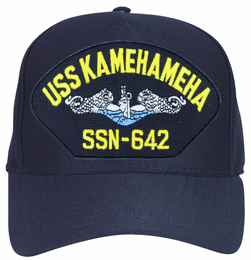USS Kamehameha SSN-642 Blue Water ( Silver Dolphins ) Submarine Enlisted Cap
