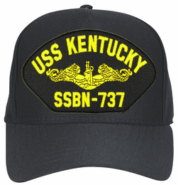 USS Kentucky SSBN-737 ( Gold Dolphins ) Submarine Officers Direct Embroidered Cap