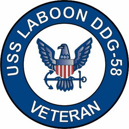 USS Laboon DDG-58 Veteran Decal Sticker