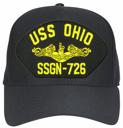 USS Ohio SSBN-726 ( Gold Dolphins ) Submarine Officer Cap