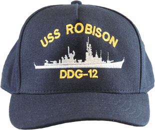USS Robison DDG-12 Direct Embroidered Cap