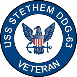 USS Stethem DDG-63 Veteran Decal Sticker