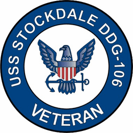 USS Stockdale DDG-106 Veteran Decal Sticker