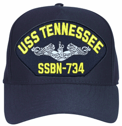 USS Tennessee SSBN-734 ( Silver Dolphins ) Submarine Enlisted Cap