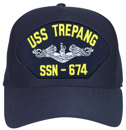 USS Trepang SSN-674 ( Silver Dolphins ) Submarine Enlisted Cap