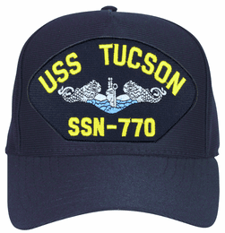USS Tucson SSN-770 Blue Water ( Silver Dolphins ) Submarine Enlisted Cap