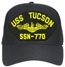 USS Tucson SSN-770 ( Gold Dolphins ) Submarine Officer Cap