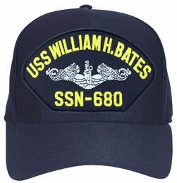 USS William H. Bates SSN-680 ( Silver Dolphins ) Submarine Enlisted Cap