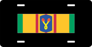 Vietnam Ribbon with 196th Infantry Brigade License Plate