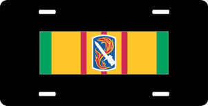 Vietnam Ribbon with 198th Infantry Brigade License Plate