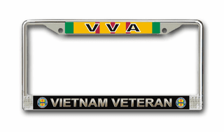 Vietnam Veterans of America License Plate Frame