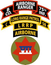 VII CORPS LRRP Decal