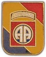 WWII Inv 82nd Airborne Lapel Pin