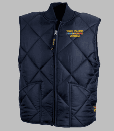 WWII Pacific Veteran Game Sportswear Finest Vest