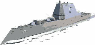 Zumwalt Class Destroyer Merchandise