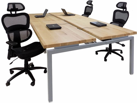 11' Solid Wood Technology Table w/ 66