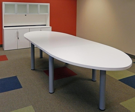 12' Oval Conference Table