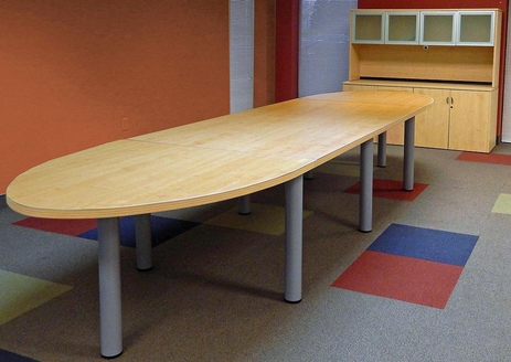 16' Oval Conference Table