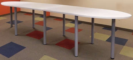 16' Oval Standing Height Conference Table