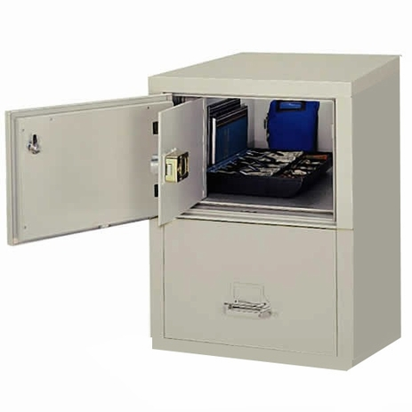 2-Drawer Legal FireKing Fireproof Safe-In-A-File - See Other Sizes Below