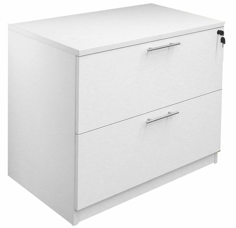 2-Drawer Locking Lateral File