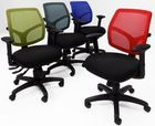 24/7 300 Lbs. Capacity Workhorse Multi-Function Office Chair w/Seat Slide