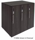 3-Person Digital Keypad Office Storage Locker in Charcoal or White