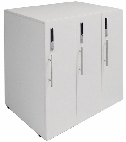 3-Person Digital Office Locker