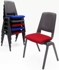 300 lb. Capacity Stackable Ganging Banquet Chair w/Padded Seat