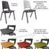 300 lb. Capacity Stackable Ganging Banquet Chair