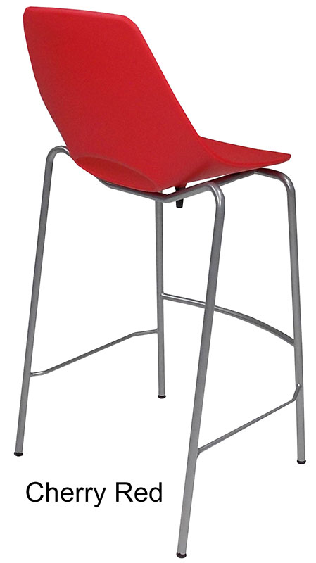 300 lb. Capacity Stackable Scoop Office Stool