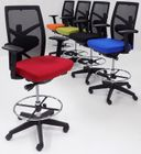 """300 Lbs. Performance Office Stool w/Seat Slide and 21-1/2""""-29-1/2"""" Seat Height"""
