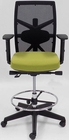 "300 Lbs. Performance Office Stool w/Seat Slide and 24""-33"" Seat Height in Olive"