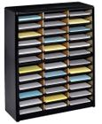 36 Compartment Value Sorter Literature Organizer