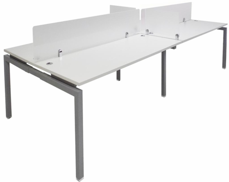 4-Person Benching Workstation w/66