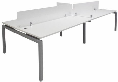 4-Person Benching Workstation w/ 71