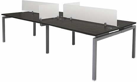 4-Person Benching Workstation w/ 72