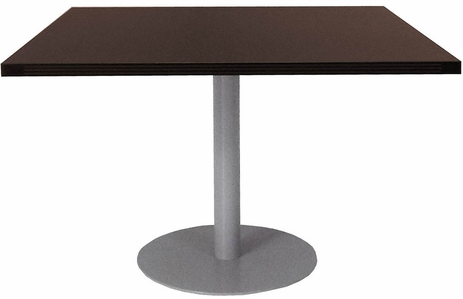4' x 4' Disc Base Conference Table / Add-On