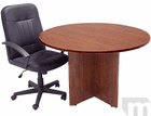 """48"""" Round Cherry Laminate Discussion Table"""