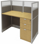 "48""W Value Series Cubicles - 48""W x 24""D x 48""H Starter Cubicle"