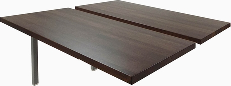 5' Add-On Technology Table w/60�x24� Solid Wood Tops