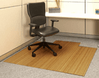 5MM Thick Roll-Up Bamboo Chair Mats