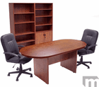8' Cherry Laminate Conference Table - See Other Sizes