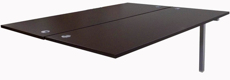 6' Add-On Technology Table w/Two 71� x 28� Worksurfaces